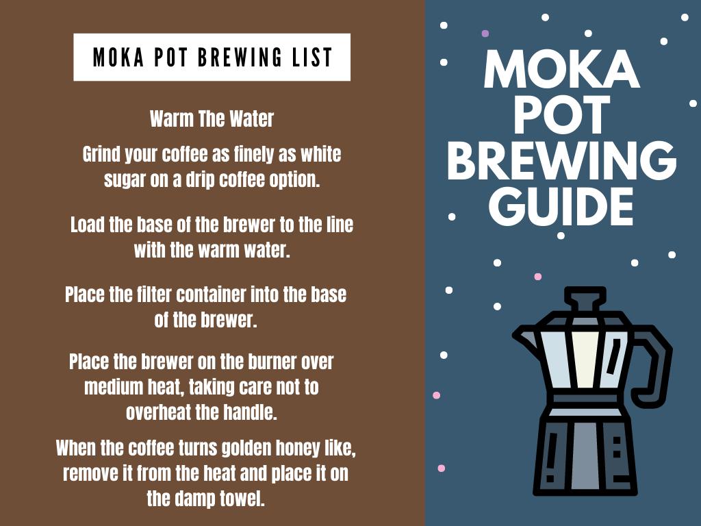 moka pot brewing guide
