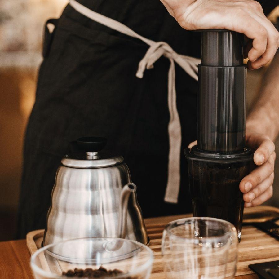 aeropress vs espresso machine