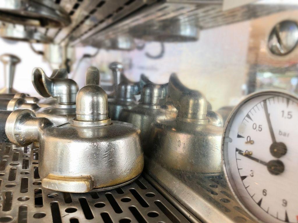 bars of pressure in espresso