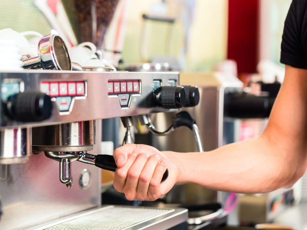 how many bars of pressure in espresso