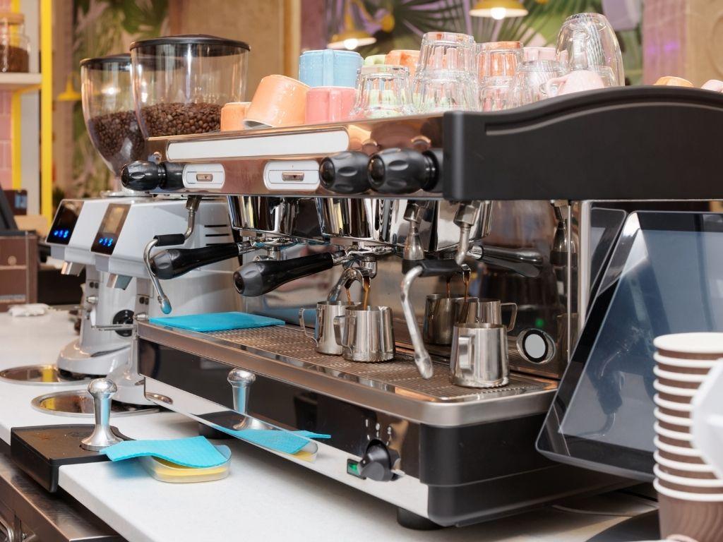 how to clean espresso machine