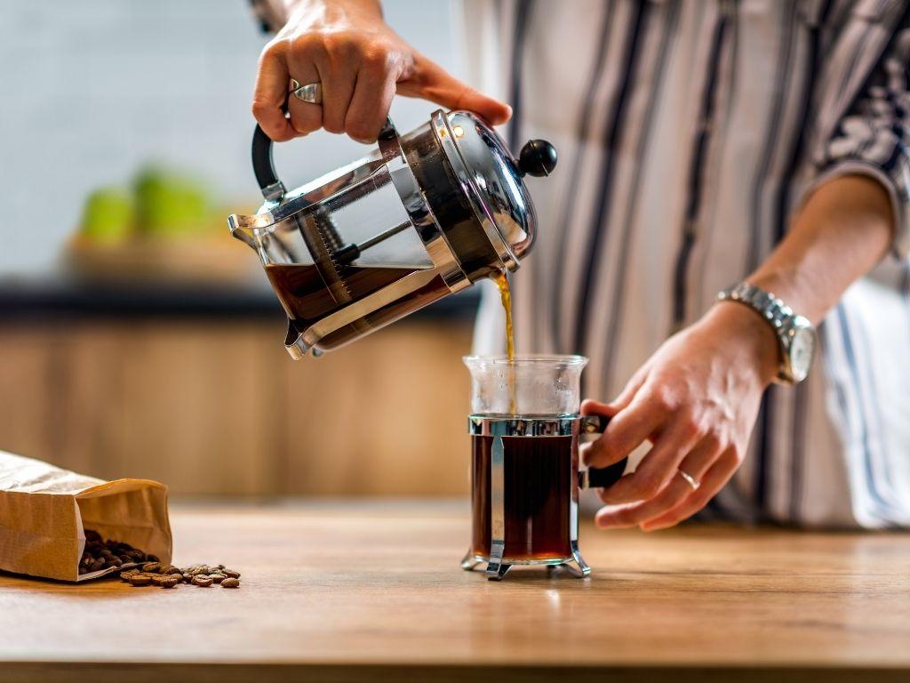 espresso using the french press
